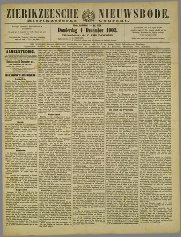 Zierikzeesche Nieuwsbode 1902-12-04