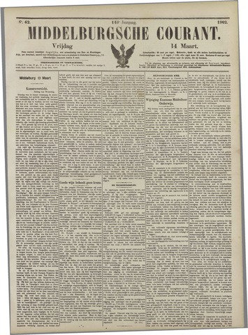 Middelburgsche Courant 1902-03-14