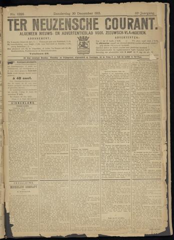 Ter Neuzensche Courant. Algemeen Nieuws- en Advertentieblad voor Zeeuwsch-Vlaanderen / Neuzensche Courant ... (idem) / (Algemeen) nieuws en advertentieblad voor Zeeuwsch-Vlaanderen 1915-12-30