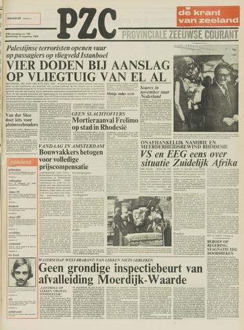Provinciale Zeeuwse Courant 1976-08-12