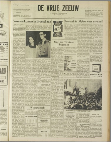 de Vrije Zeeuw 1960-12-14