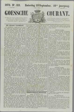 Goessche Courant 1872-09-21