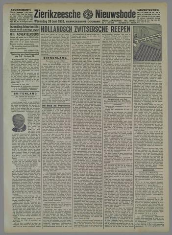 Zierikzeesche Nieuwsbode 1933-06-28