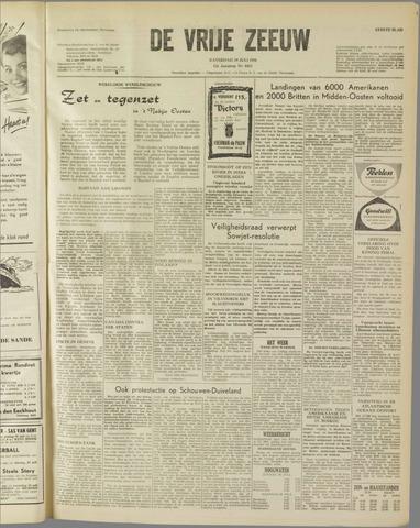 de Vrije Zeeuw 1958-07-19