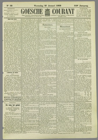 Goessche Courant 1932-01-27
