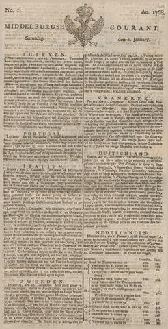 Middelburgsche Courant 1768