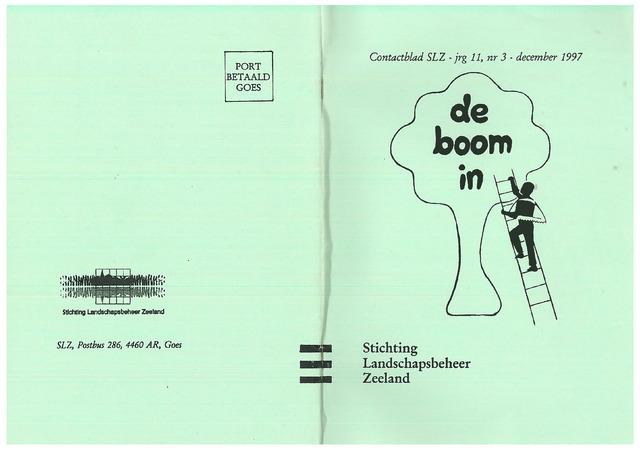 Landschapsbeheer Zeeland - de Boom in 1997-12-01