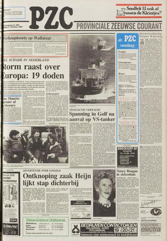 Provinciale Zeeuwse Courant 1987-10-17
