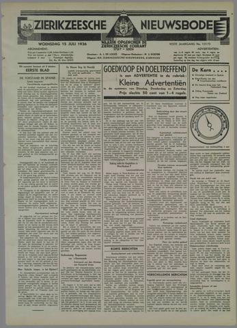 Zierikzeesche Nieuwsbode 1936-07-15