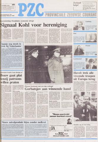 Provinciale Zeeuwse Courant 1990-02-07