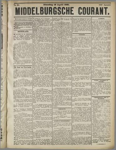 Middelburgsche Courant 1921-04-12