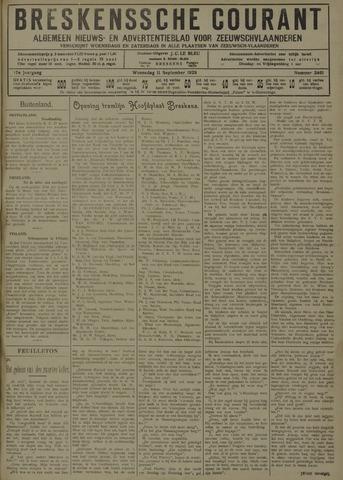 Breskensche Courant 1929-09-11