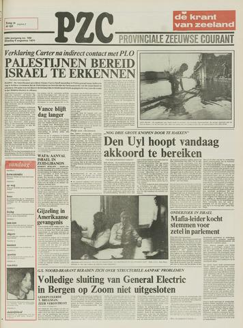 Provinciale Zeeuwse Courant 1977-08-09