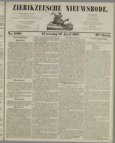 Zierikzeesche Nieuwsbode 1867-04-10