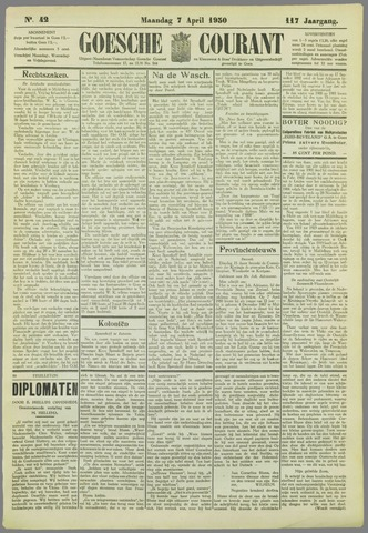 Goessche Courant 1930-04-07