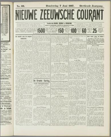 Nieuwe Zeeuwsche Courant 1917-06-07