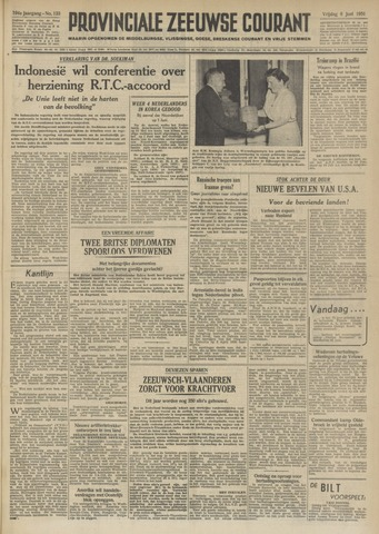 Provinciale Zeeuwse Courant 1951-06-08