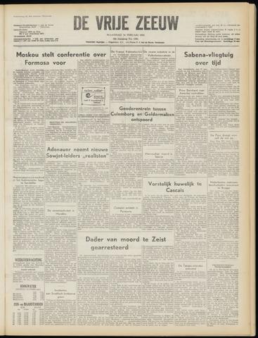 de Vrije Zeeuw 1955-02-14
