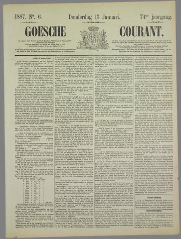 Goessche Courant 1887-01-13