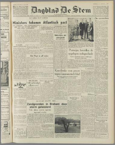 de Stem 1949-04-05