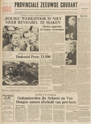 Provinciale Zeeuwse Courant 1970-06-03