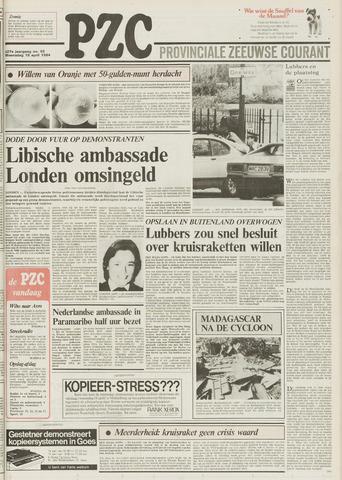 Provinciale Zeeuwse Courant 1984-04-18