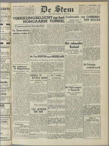 de Stem 1947-09-02