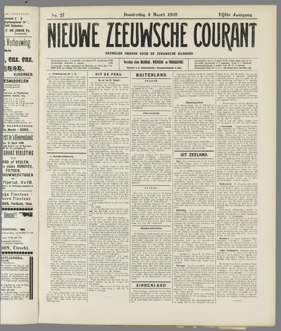 Nieuwe Zeeuwsche Courant 1909-03-04