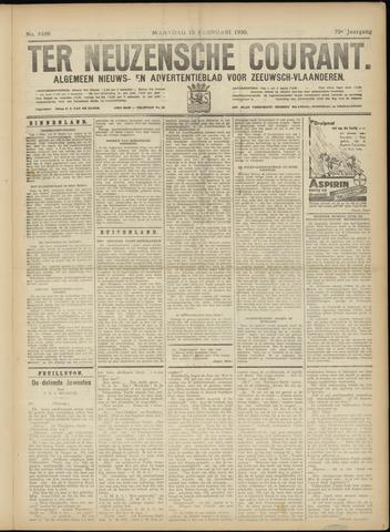 Ter Neuzensche Courant. Algemeen Nieuws- en Advertentieblad voor Zeeuwsch-Vlaanderen / Neuzensche Courant ... (idem) / (Algemeen) nieuws en advertentieblad voor Zeeuwsch-Vlaanderen 1930-02-10