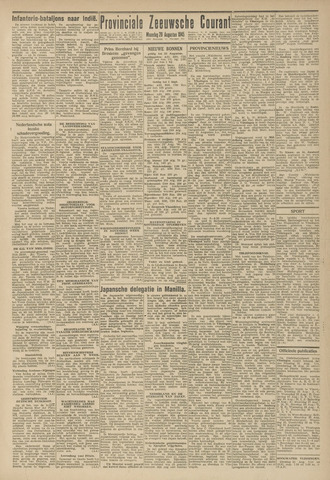 Provinciale Zeeuwse Courant 1945-08-20
