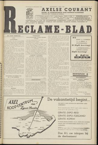 Axelsche Courant 1958-07-02