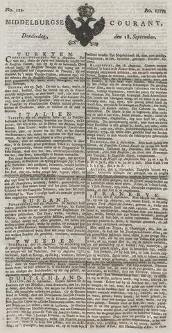 Middelburgsche Courant 1777-09-18