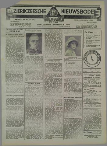 Zierikzeesche Nieuwsbode 1937-03-26