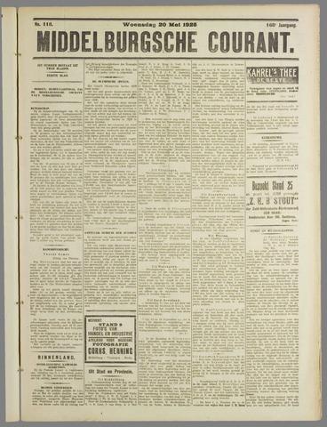 Middelburgsche Courant 1925-05-20