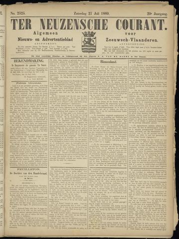 Ter Neuzensche Courant. Algemeen Nieuws- en Advertentieblad voor Zeeuwsch-Vlaanderen / Neuzensche Courant ... (idem) / (Algemeen) nieuws en advertentieblad voor Zeeuwsch-Vlaanderen 1889-07-27