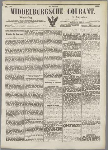 Middelburgsche Courant 1899-08-09