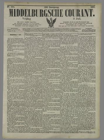 Middelburgsche Courant 1891-07-03