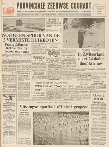 Provinciale Zeeuwse Courant 1968-01-29