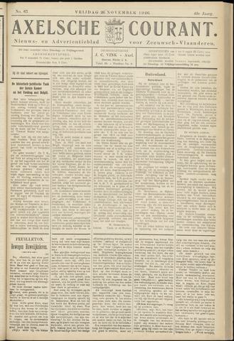 Axelsche Courant 1926-11-26