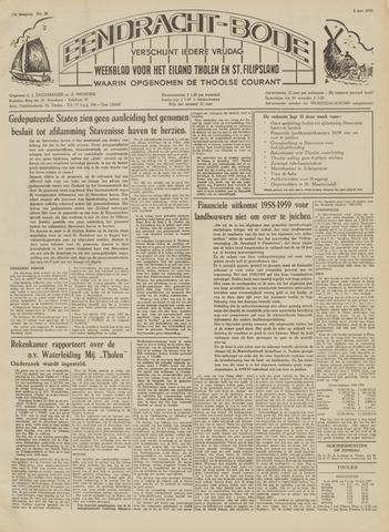 Eendrachtbode (1945-heden)/Mededeelingenblad voor het eiland Tholen (1944/45) 1959-06-05