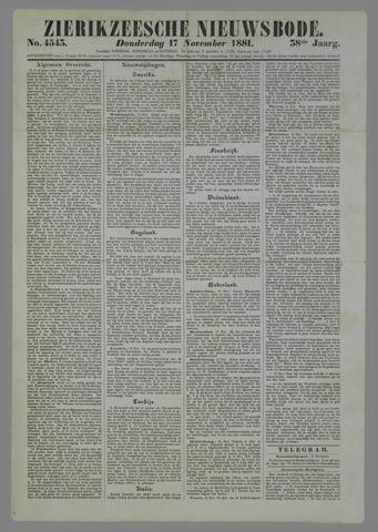 Zierikzeesche Nieuwsbode 1881-11-17