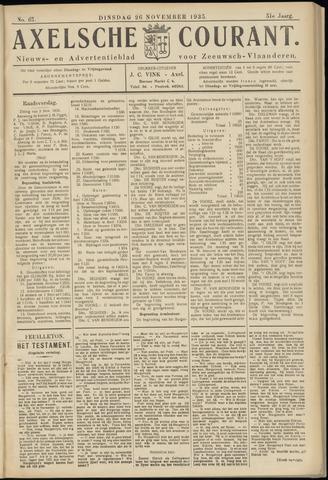 Axelsche Courant 1935-11-26