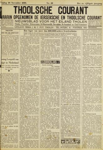Ierseksche en Thoolsche Courant 1938-11-18