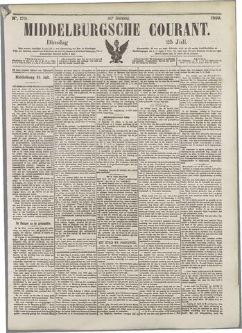 Middelburgsche Courant 1899-07-25