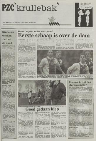 Provinciale Zeeuwse Courant katern Krullenbak (1981-1999) 1997-03-11