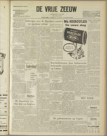 de Vrije Zeeuw 1958-06-12