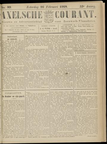 Axelsche Courant 1918-02-16