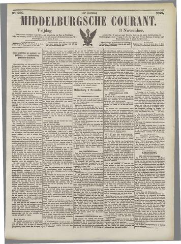 Middelburgsche Courant 1899-11-03