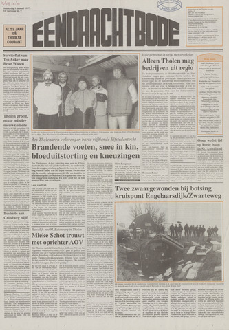 Eendrachtbode (1945-heden)/Mededeelingenblad voor het eiland Tholen (1944/45) 1997