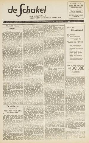 De Schakel 1961-09-22